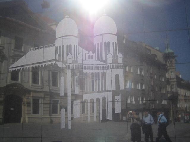 The Bratislava synagogue