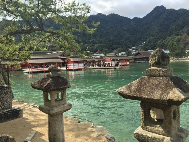 Temple on Miyajima